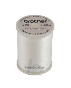 Brother spoeldraad wit
